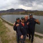 Selfie sul lago