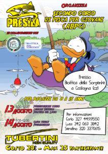 Locandina Scuola Pesca Presila Fipsas 2018