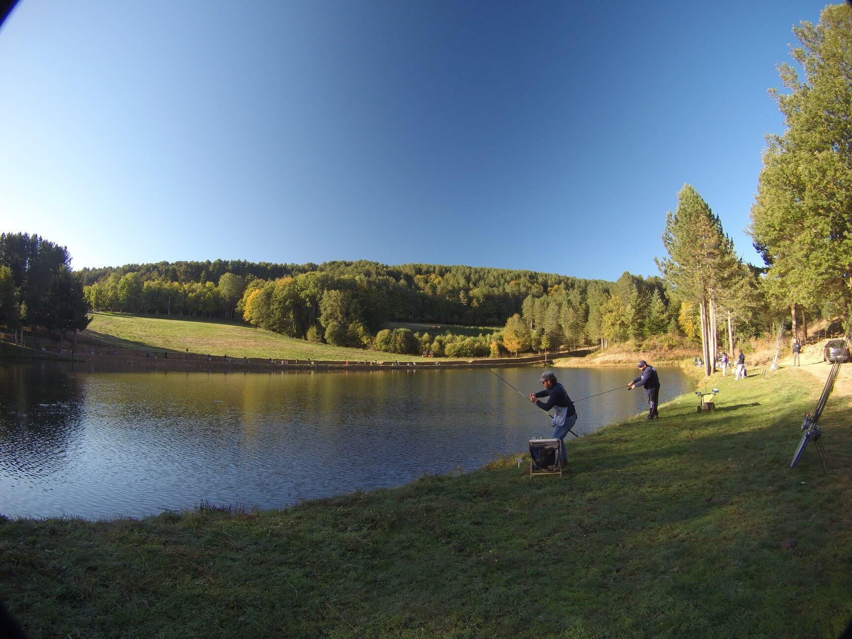 Finale a coppie sul lago Federici