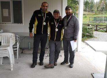 Premiazione Pierino Cittadino primo assoluto della terza gara individuale